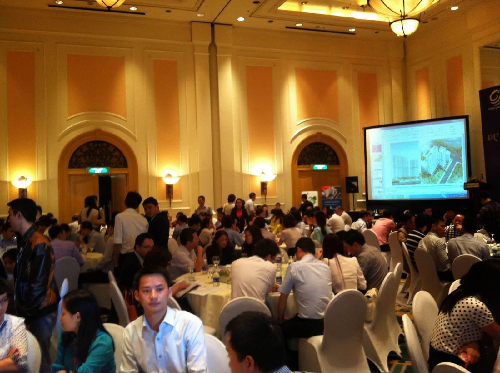 Lễ mở bán chính thức chung cư HONGKONG tower